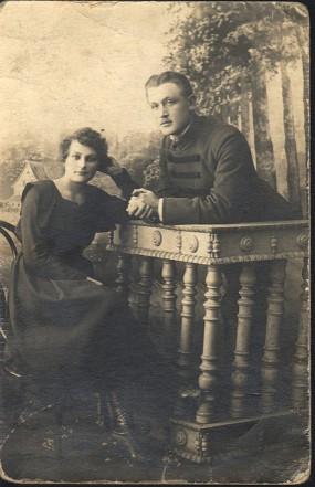 Mr. and Mrs. Piotr Kazimierczyk 1922 Bagatele